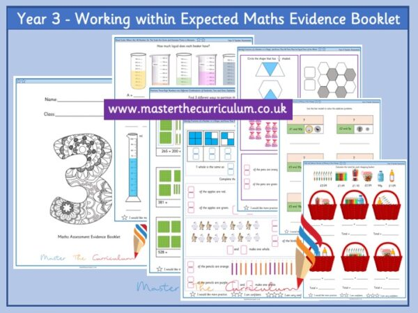 Year 3: Working within Expected Maths Evidence Booklet