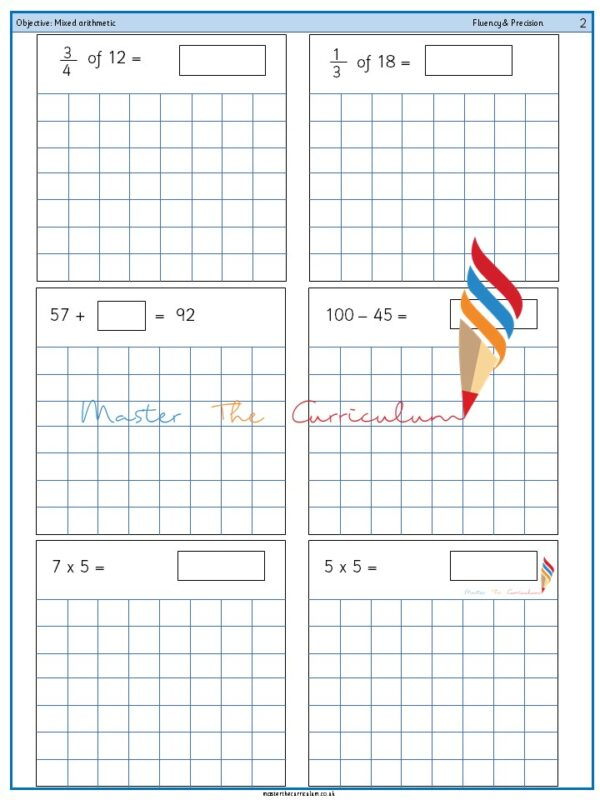 Year 2 Mixed arithmetic (11)