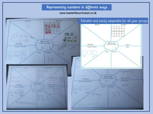 Year 3 Maths Number and Place Value Identify, represent and estimate numbers using different representations - 9