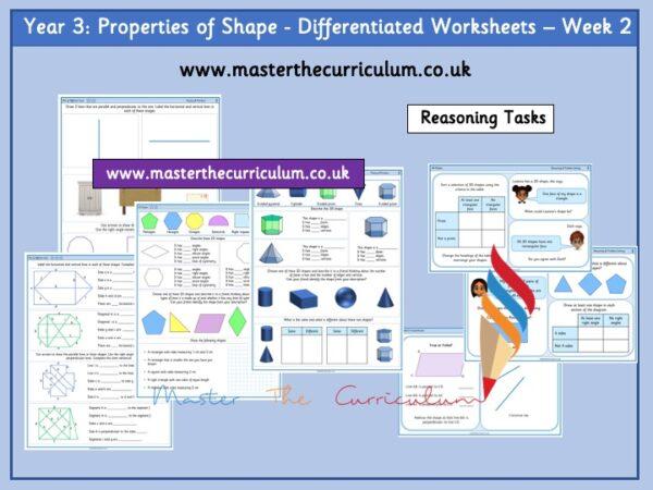 Year 3 properties of shape week 2 Pic