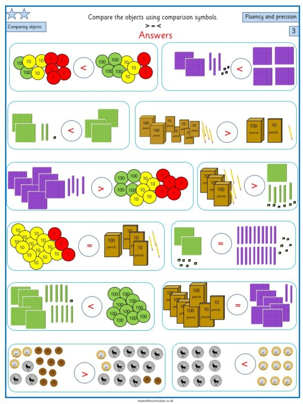 Year 3- week 1 & 2- 10 Editable Lessons of Place Value Worksheets 3