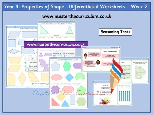 Year 4 properties of shape week 2 Pic