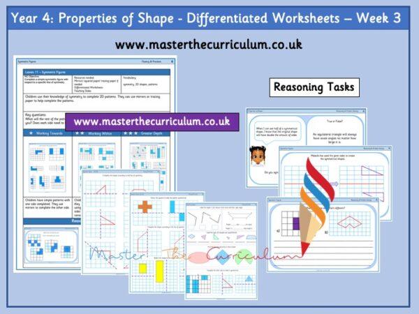 Year 4 properties of shape week 3 Pic